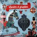 Anne Cresci - Cartes à gratter Jouets de Noël - Avec 6 cartes et 1 bâtonnet.
