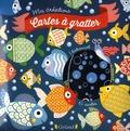 Lucile Ahrweiller - Cartes à gratter poissons d'avril.