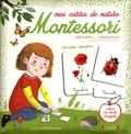Céline Santini et Vendula Kachel - Mes cartes de nature Montessori - 108 cartes classifiées, avec un mode d'emploi.
