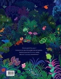 Cachés dans la jungle. Cherche et trouve