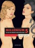David Lagercrantz - Millénium Tome 5 : La fille qui rendait coup pour coup. 1 CD audio MP3