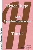 Victor Hugo - Les contemplations - Tome 1.