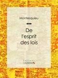 Montesquieu et  Ligaran - De l'esprit des lois.