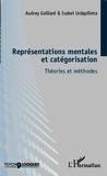Audrey Gaillard - Représentation mentales et catégorisation - Théories et méthodes.