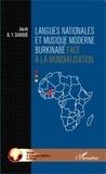 Jacob Daboué - Langues nationales et musique moderne burkinabé face à la mondialisation.