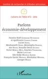 IREA - Cahiers de l'IREA N° 2/2016 : Parlons économie-développement.