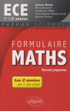 Sylvain Rondy - Formulaire Maths ECE 1re et 2e.