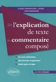 Jean-Michel Gouvard - De l'explication de texte au commentaire composé.