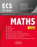 Sylvain Rondy - Mathématiques ECS 1re année.