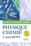 Christian Garing et Lionel Uhl - Les 1001 questions de la physique-chimie en prépa - 2e année BCPST.
