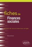 Messaoud Saoudi - Fiches de finances sociales.