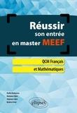 Noëlle Benhamou et Marianne Fabre - Réussir son entrée en master MEEF.