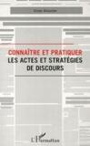 Victor Allouche - Connaître et pratiquer les actes et stratégies de discours.