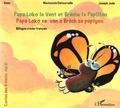Sess et Joseph Jude - Papa Loko le vent et Brèche le papillon - Edition bilingue créole-français. 1 CD audio