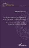 Zéphyrin Ligopi Linzuwa - La lutte contre la pauvreté comme une quête de sens - Perspective d'éthique théologique à partir du cas de la RD Congo.