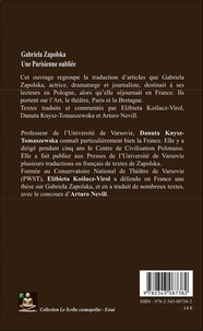 Gabriela Zapolska. Une Parisienne oubliée !
