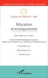 IREA - Cahiers de l'IREA N° 3/2016 : Education et enseignement.