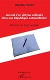 Jean-Claude Shanda Tonme - Journal d'un citoyen ordinaire dans une République extraordinaire - Mémoire du temps présent.