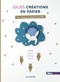 Gaël Le Neillon - Jolies créations en papier pour décorer la chambre de bébé.