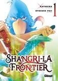 Katarina et Ryôsuke Fuji - Shangri-La Frontier - Tome 1.
