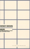 Wendy Brown - Murs - Les murs de séparation et le déclin de la souveraineté étatique.