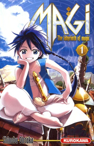 Magi : the labyrinth of magic. 1 / Shinobu Ohtaka | Ōtaka, Shinobu (1983-....). Auteur