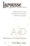 Larousse - Larousse en grands caractères - 4 volumes.
