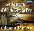 Edgar Allan Poe - Les Aventures d'Arthur Gordon Pym. 1 CD audio MP3