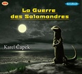 Karel Capek - La guerre des salamandres. 1 CD audio MP3