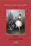 Théofile Gautier Société - Bulletin de la société Théophile Gautier n31 - Théophile Gautier et les arts de la danse.