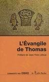 Osho - L'Evangile de Thomas.