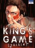 Nobuaki Kanazawa et J-Ta Yamada - King's Game Origin Tome 3 : .