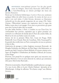 La beauté et la grâce. Itinéraire d'un aristocrate européen, Alex Rzewuski
