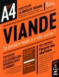 Camille Drouet et Amélie Mougey - A4 (XXI - 6 Mois - Topo - La Revue dessinée ) Hors-série : Viande - Sa dernière heure a-t-elle sonné ?.