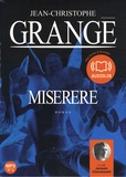 Jean-Christophe Grangé - Miserere. 1 CD audio MP3