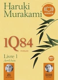 Haruki Murakami - 1Q84 - Livre 1, Avril-Juin. 2 CD audio MP3