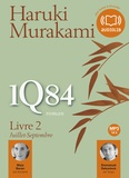 Haruki Murakami - 1Q84 - Livre 2, Juillet-Septembre. 2 CD audio MP3