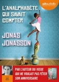 Jonas Jonasson - L'analphabète qui savait compter. 2 CD audio MP3