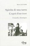 Maria Leandri - L'esprit d'une terre.