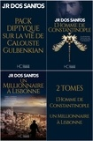 Jose rodrigues dos Santos et Adelino Pereira - Pack JR Dos Santos - Diptyque Gulbenkian 2 tomes.