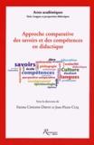 Fatima Chnane-Davin et Jean-Pierre Cuq - Approche comparative des savoirs et des compétences en didactique.