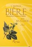 Anonyme - L'article Bière suivi de Brasserie - Encyclopédie de Diderot & d'Alembert in Volume II.