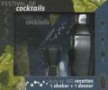 I2C - Festival de cocktails - Coffret avec livre, un shaker et un doseur.