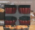 I2C - Soufflés, gratinés, et autres douceurs - 4 ramequins rouges et un livre de 32 nouvelles recettes.