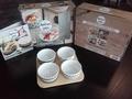 I2C - Mes apéros 100% faits maison - Contient : 1 livre de recettes et 4 bols en céramique.
