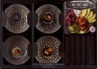 I2C - Coffret mes bols santé - Mes bols santé, poké bowls et buddha bowls avec 4 bols céramique, 4 paires de baguettes.