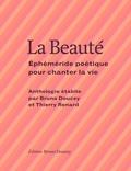 Thierry Renard et Bruno Doucey - La Beauté - Ephéméride poétique pour chanter la vie.