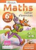 Katia Hache et Sébastien Hache - Maths 6e Cycle 3 iParcours - Cahier d'exercices.