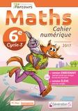 Katia Hache - Maths cycle 3, 6e Cahier numérique iparcours. 1 DVD