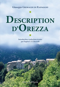 Giuseppe Grimaldi di Rapaggio - Description d'Orezza.